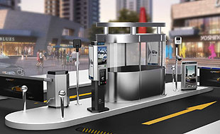 Several technologies of intelligent anti smashed cars parking barrier system
